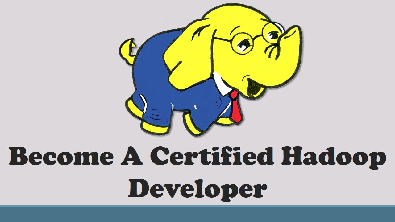 On Ed Become A Certified Hadoop Developer